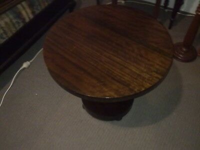 Art Deco coffee table, round