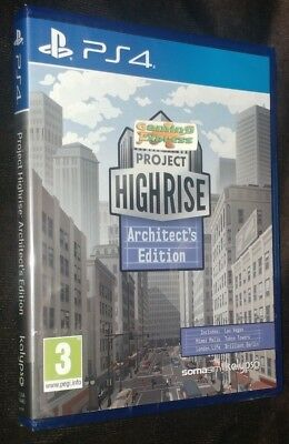 Project Highrise Architect's Edition Playstation 4 PS4 NEW SEALED UK SELLER