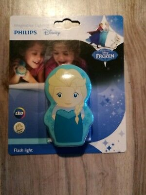 FLASHLIGHT ÜBERNACHTUNG LED KINDER 0,3W PHILIPS DISNEY FROZEN ELSA Taschenlampe