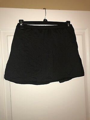 Dance Skort M Black EUC