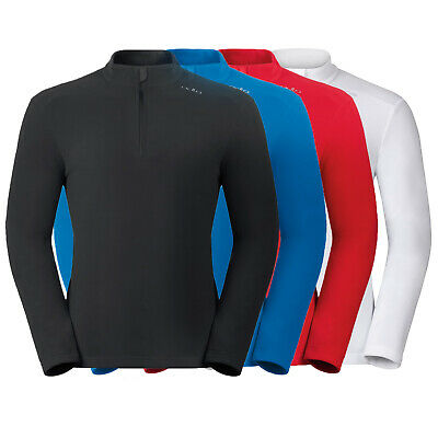ODLO ORSINO Midlayer 1/2 Zip Herren Fleece Shirt, Pullover