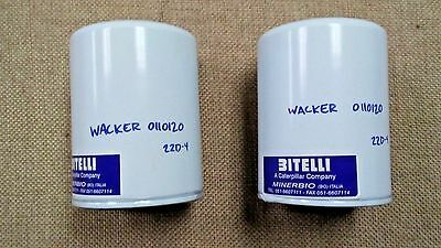 One New Genuine Wacker Element-Oil Filter 0110120