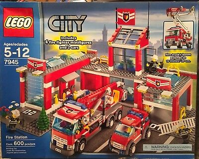 Lego City 7945 Fire Station W 7238 7239 7942 5600 Picclick