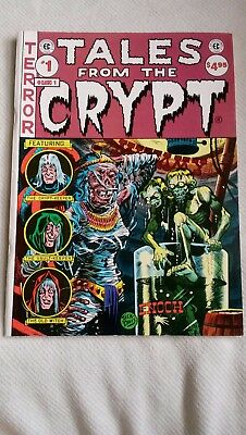 EC Classics #1 Tales From the Crypt reprint 1985 magazine