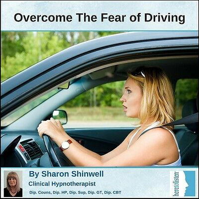 Overcome the Fear of Driving on Roads & Motorways Self-Hypnosis CD @ HALF PRICE