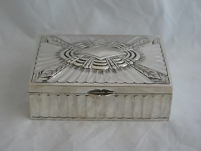 Awesome .800 Silver Berlin Germany Art Deco Box
