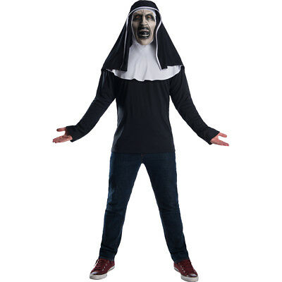 Adult The Nun Movie Horror Costume Top
