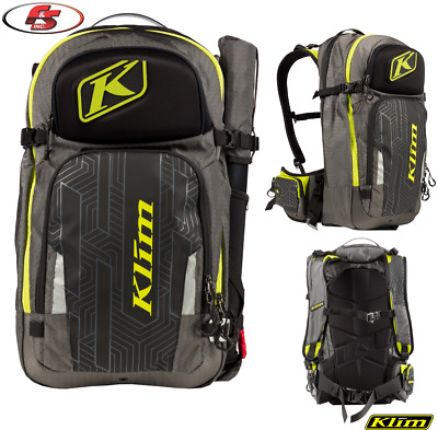 New 2019 KLIM KREW PAK - Lime- Snowmobile Enduro Motorcycle Backpack