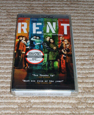 Rent (UMD, 2006) for PSP in Widescreen Format New Rosario Dawson, Idina Menzel!
