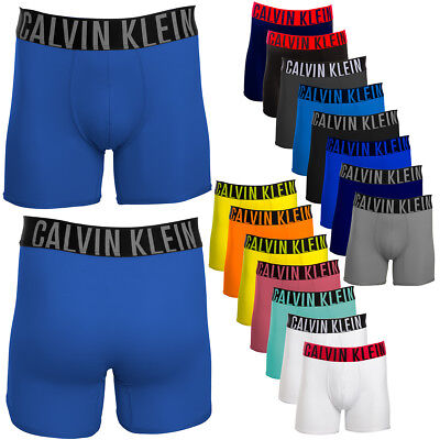Calvin Klevin Men's Boxer Briefs Microfiber Moisture Wicking Athletic Underwear