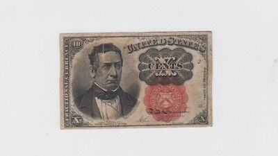 Fractional Currency Civil war era item to the 1870s low grade