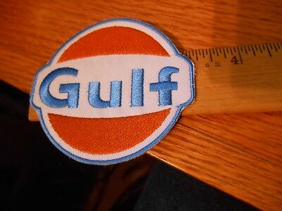 Gulf Oil Iron on Patch