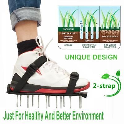 Grass Spiked Gardening Walking Revitalizing Lawn Aerator Sandals 30x13CM Shoes