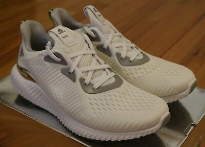eff7a56bbd83b ADIDAS X KOLOR Alphabounce 1 White Sneakers Brand New Size 10 10.5 ...