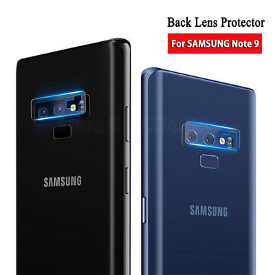 For Samsung Galaxy Note 9 HD Back Camera Lens Tempered Glass Protector Film 2-5X