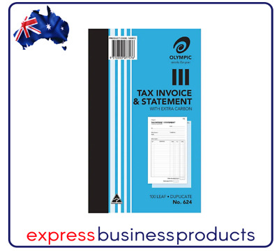 Olympic #624 Duplicate Tax Invoice & Statement Book - AO140872