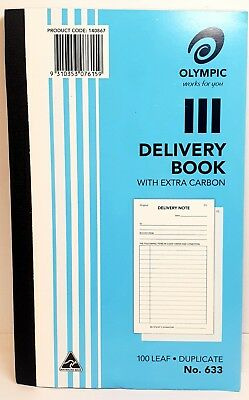 10 Pack Olympic #633 Duplicate Delivery Book - AO140867