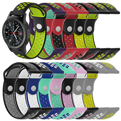 Silicone Bracelet Strap Watch Band For Samsung Gear S3 Frontier/Classic 22mm New