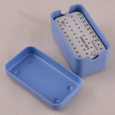 Dental Endodontic 40 Holes Autoclavable Sterilising Box Tray Holder Clean