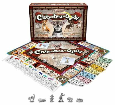 Chihuahua-Opoly Family Board Game