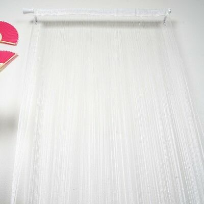 White 3x8 ft String Fringe CURTAIN Stage Party Wedding Home Window Door SALE
