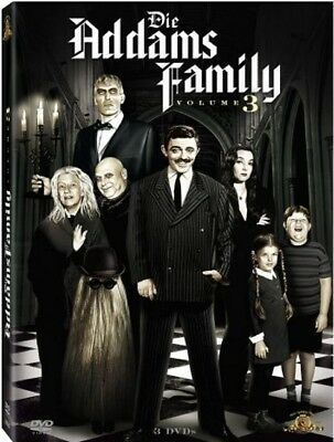 Addams Family - Staffel / Season 3 mit * 3 DVDs * - die DVD Box NEU in Folie