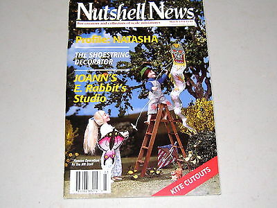 #2068   March  1994  Nutshell News Minatures Magazine For Creators & Collectors