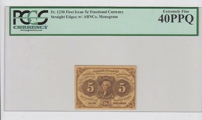 Fractional Currency Civil War era item to 1870's PCGS Graded ef 40PPQ
