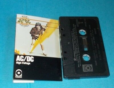 Ac/dc High Voltage Atco Acdc  Cassette Tape T.n.t Long Way To The Top