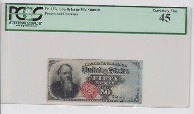Fractional Currency Civil War era item to 1870's PCGS Graded ef 45