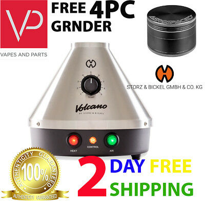 100% Genuine Storz & Bickel Volcano Classic Desktop Vape Device | New Version