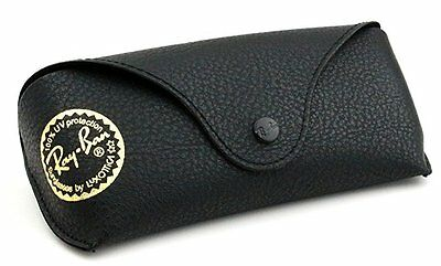 Ray Ban Eye Glasses/Sunglasses Black Cover,Case With Cleaning Cloth  @1