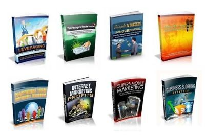 100 Business eBooks Disc Full Resell Rights PDF Format on CD