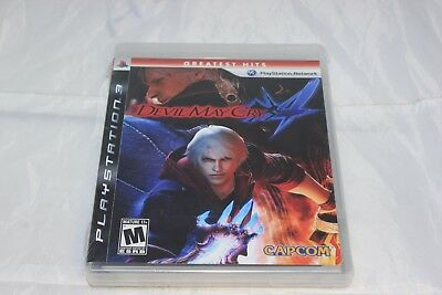 Devil May Cry 4 Sony PlayStation 3 Greatest Hits Brand New