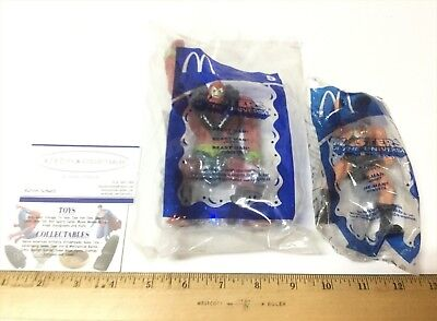 2- 2003 McDonald's Happy Meal He-Man Beast Man Masters of the Universe Figures