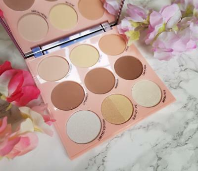 MAKEUP REVOLUTION IMOGENATION Highlight to the Moon HIGHLIGHTER Contour Palette