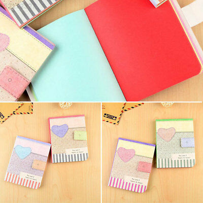 61F5 CuteHardbackNotepad Notebook Writing Paper Journal Memo Stationery Gifts