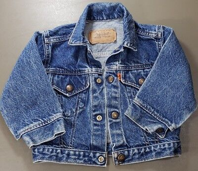 Levi Strauss Levi'sToddlers Denim Jacket. Size 2T or 3T In Very Good Condition!
