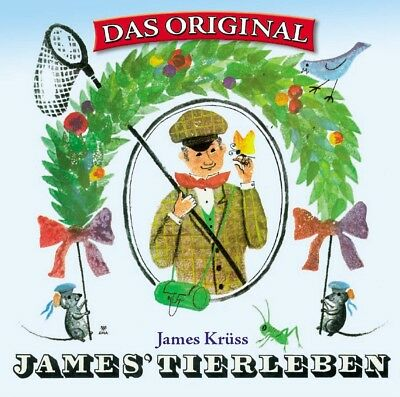 J. Krüss - James' Tierleben, Das Original, 1 Audio-CD