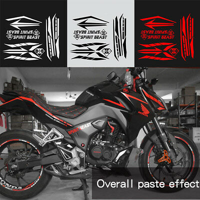 Reflective Motorcycle Body /Gas Fuel Tank Pad Protector Sticker For Honda CB190R