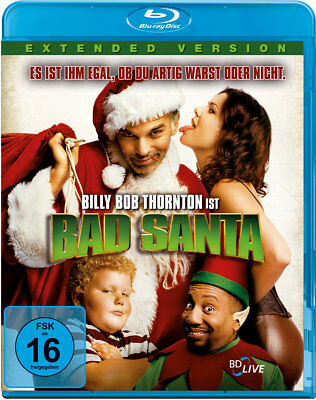 Terry Zwigoff - Bad Santa, Extended Version, 1 Blu-ray