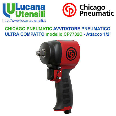 CHICAGO PNEUMATIC AVVITATORE PNEUMATICO ULTRACOMPATTO modello CP7732C 625Nm 1/2""