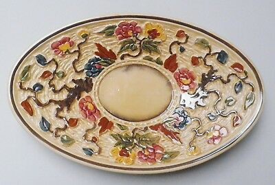 H J Wood Indian Tree Oval Dish - Made in England