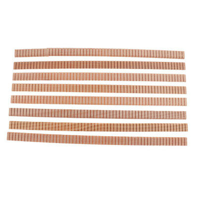 8 Pieces Guitar Edge Trim Inlay Body Project DIY Luthiers Tools for Guitar