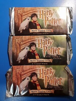 Harry Potter Movie Trading Cards (3 Avaiable) Factory Sealed Boosters
