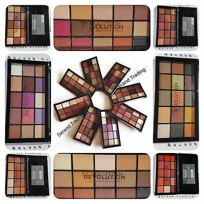 MakeUp Revolution Re-Loaded Iconic Eyeshadow Palette - UK - Choose your Shade
