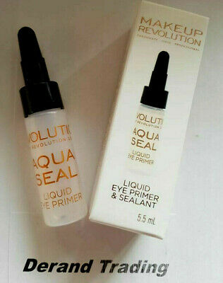 Makeup Revolution Eye Primer Liquid Aqua Seal 5.5ml NEW BOXED
