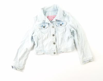 Cherokee Girls Blue Plain Denim Jacket Age 7-8
