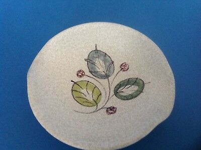 Vintage Denby Stoneware Pottery Crystalline Hand Painted Dish - Glyn Colledge