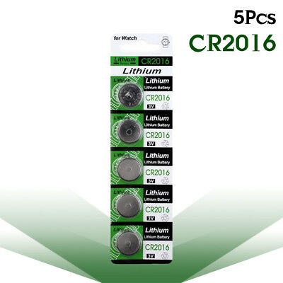 5pcs Calculator 3V Coin Cell CR1632 CR2016  CR1025 CR1225  Button Batteries Toy